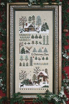 The Victoria Sampler - Jingle Bells Christmas Tree Farm