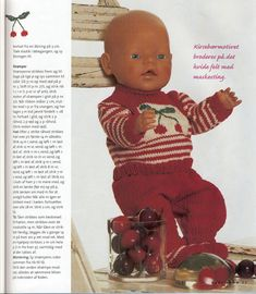 Morgan PDF Knitting Pattern for Doll Clothes to suit inch / 40 - Baby Dolls such as Baby Born Ashton Drake, Garçonnet Swag, Couture, Baby First Outfit, Baby Girl Names Unique, Baby Born Clothes, Baby Nursery Closet, Baby Boy Swag, Crochet Baby Cocoon