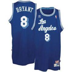 Mens Los Angeles Lakers Kobe Bryant 2003-2004 Adidas Blue Hardwood Classics  Swingman Jersey aad219f85