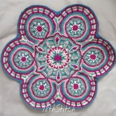 78th_stitch #crochet mandala overlay