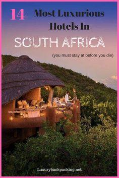 Luxury Hotels In South Africa | Bucket list Hotels in South Africa | Safari Camps | South Africa Hotels | Luxury Hotels