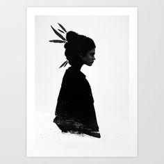 Never Never Art Print by Ruben Ireland - $18.00