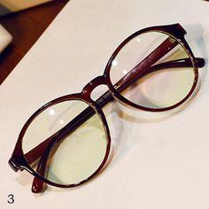 Vintage Klarglas Brille 2017 Damen Mode