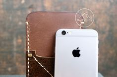 Leather caseiPhone6 mensmens walletsiphone wallet by NorthJourney