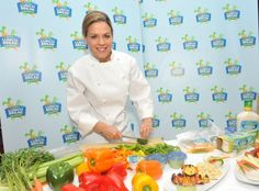 Chef Cat Cora's Top 4 Tips To Help Your Kids Love Fruits and Veggies