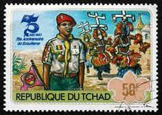 """1983 scout jamboree postage stems *mali*"""