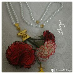 Photocollage, Needle Lace, Flowers, Jewelry, Hand Embroidery, Hands, Jewellery Making, Jewlery, Florals