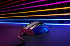 Introducing the new Razer Mamba Elite gaming mouse, featuring Razer advanced optical sensor, and the extended Razer Chroma lighting zones. Gaming Setup, Games, Giveaway, Gift Ideas, Gaming, Toys, Gift Tags