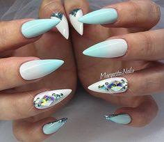 Pretty Stiletto Nails