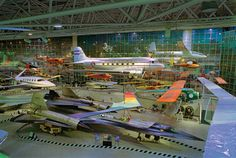 Explore the Boeing Museum of Flight.