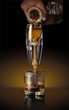 Vinturi Spirit Aerator - Similar to aerating your wine, the Vinturi Spirit Aerator increases oxygen exposure to your stiff drinks. Whether you like brandy, whiskey or tequi. Hard Drinks, Cheers, Drinking Vinegar, Scotch Whiskey, Ron, Wine And Spirits, Alcoholic Drinks, Beverages, Cocktails