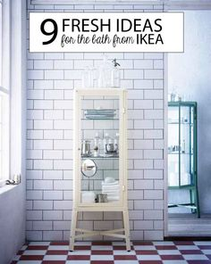 10 New Must-Have's for the Bathroom at IKEA