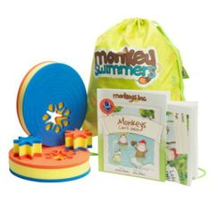 Monkey Swimmers Swimming Pack