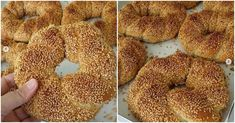 It is not difficult to prepare the bagels sold in the bakeries. Doughnut, Nutella, Ham, Health, Desserts, Bakeries, Bagels, Essen, Tailgate Desserts
