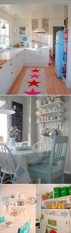 cozinha5 Koti, Interior Design Kitchen, New Homes, Bed, Furniture, Home Decor, Kitchens, Houses, Decoration Home