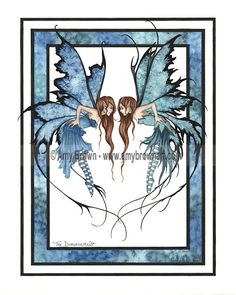 ORIGINAL ART - Watercolor Paintings A - H - Amy Brown Fairy Art - The Official Gallery