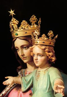 I just learned that in the Jewish culture, a woman is a Queen not by marriage or through the husband's lineage, but through the son. Mary is the Queen because Jesus is King.