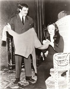 John Astin Carolyn Jones The Addams Family 8x10 Photo   eBay