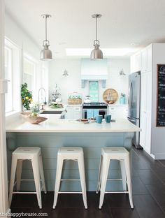 Fall Dining Room & Kitchen Tour | The Happy Housie