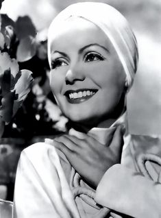 "Greta Garbo - The Painted Veil Beautiful!..... "" very few photos of Ms. Garbo smiling, have I seen... this is refreshing "" ~"