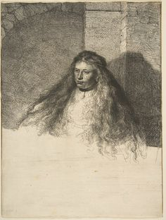 Rembrandt (Rembrandt van Rijn) (Dutch, Leiden 1606–1669 Amsterdam), The Great Jewish Bride, 1635. Etching; second state of five; sheet: 8 9/16 x 6 7/16 in. (21.8 x 16.4 cm). H. O. Havemeyer Collection, Bequest of Mrs. H. O. Havemeyer, 1929. The Metropolitan Museum of Art, 29.107.32 © 2000–2016 The Metropolitan Museum of Art.