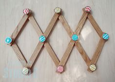 Make a Custom Expanding Rack with Pretty Hardware