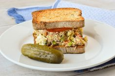 A savory breakfast sandwich that hits all of the major food groups. This Tuna and Egg Scramble Sandwich is protein-packed and just a tad bit spicy!