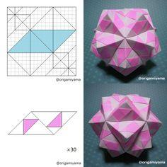 sonobe variations  - 折り紙展示室