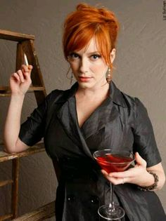 Christina Rene Hendricks -Hollywood Auburn Actress - Drive -Famous as Joan Holloway in series Mad Men - The sexiest woman in the world Mad Men, Christina Hendricks, Joan Harris, Joan Holloway, Beautiful People, Beautiful Women, Smoking Ladies, Up Girl, Real Women