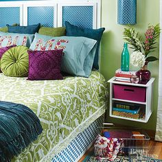 75 best of stock of purple and lime green bedding bedroom красные дома, спа Lime Green Bedding, Lime Green Bedrooms, Purple Bedrooms, Blue Bedroom, Bedroom Bed, Cozy Bedroom, Master Bedroom, Dream Bedroom, Girls Bedroom