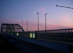 夕景  多摩水道橋