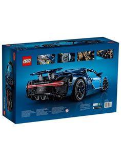 Lego Technic 42083 Bugatti Chiron Auto-Monotone- # AUTO - tuu b - Lego Lego Technic, Super Sport Cars, Super Cars, Lego Decorations, Puppy Hats, Bugatti Cars, Blue Color Schemes, Car Posters, Lego Zombies