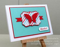 Lots of Thanks and Fresh Prints DSPS Carol Lovenstein - Stampin' Up!