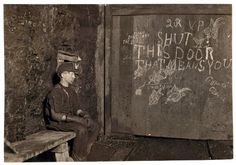 Vance, a trapper boy, 15 years old. Has trapped for several years in a West Virginia coal mine at 75 cents a day for 10 hours work.