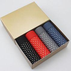 HEE GRAND 4 Pieces/Lot Fashion Male Panties Print Underwear Men's Boxers High Quality Modal Underpants Shorts Men Boxer NNP198
