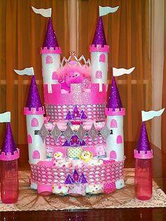 Princess Claire Diaper Castle
