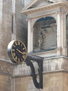 File:City of London, St. Dunstan-in-the-West clock.The clock, dating from 1671. - geograph.org.uk - 865114.jpg