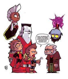 "skottieyoung:  ""X-Men #youngvariant #variantcover #marvel #inhumans  ""  *"