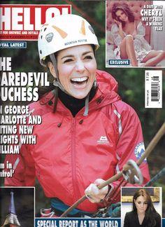 Hello magazine Kate Middleton Cheryl Cole Julia Roberts Carrie Underwood Recipes