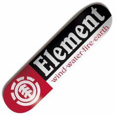 Element Skateboards Element Section Skateboard Deck 7.75''