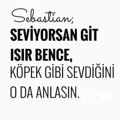 ✿ ❤ Söyle Sebastian! :)))