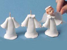 Communion angel cake topper