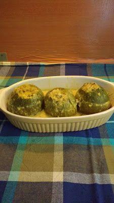Κολοκύθια στρόγγυλα γεμιστά αυγολέμονο ~ Οι συνταγές της μαμάς μου Muffin, Vegetables, Cooking, Breakfast, Blog, Recipes, Kitchen, Morning Coffee, Muffins