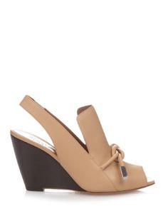 Bronte wedge sandals  | Sportmax | MATCHESFASHION.COM US