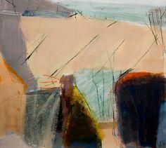 Abstract Landscape, Divider, Artist, Artwork, Painting, Mixed Media, Space, Modern, Kunst