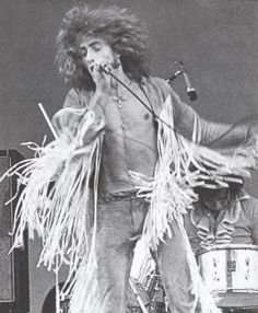 rocknrollhighskool: The Who's Roger Daltrey in action on stage in the 1970s