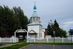 Russian Orthodox Church--Kenai, Alaska ....I was here with my daughter Cameron