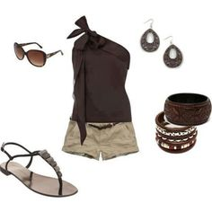 Fashionista Trends - Part 4 Cute Summer Outfits, Short Outfits, New Outfits, Casual Outfits, Fashion Outfits, Womens Fashion, Summer Clothes, Outfit Summer, Summer Shorts