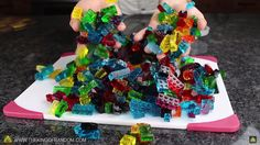 How To Make Fun, Stackable LEGO Gum Candies