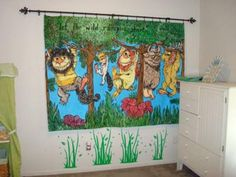 Where the Wild Things Are Baby Nursery Theme Wall Decorations:    SEE MORE! Here's the story of my baby boy's Where the Wild Things are Baby Nursery Theme.  Throughout my entire pregnancy I thought that if I found